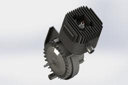 Piaggio SI 50cc 2T engine
