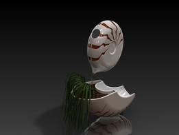 Nautilus Flower pot and jug