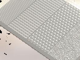Emboss textures for polystyrene diffusers (текстуры тиснения для рассеивателей из полистирола)