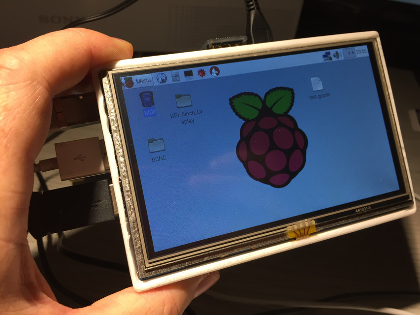 Raspberry Pi 5inch Display Enclosure | 3D CAD Model Library