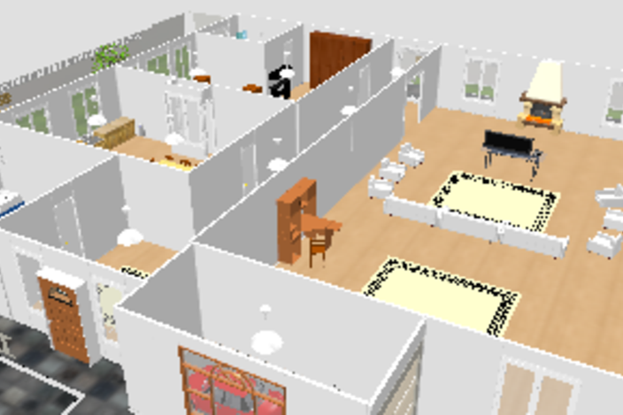 my first house other 3d cad model grabcad. Black Bedroom Furniture Sets. Home Design Ideas