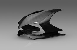 Ducati Panigale Mask CAD model