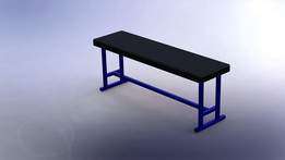 Flat bench (home made)