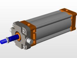 PNEUMATIC CYLINDER Ø 100 mm x 200 mm