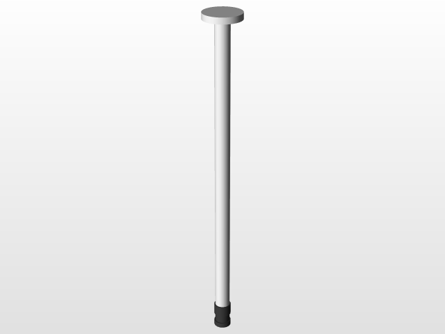 1ml Syringe with locking tip | 3D CAD Model Library | GrabCAD