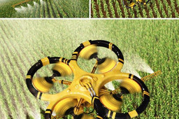 Quadcopter for -Agriculture
