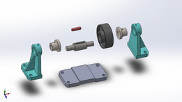 Pulley in SolidWorks