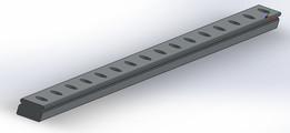 Hiwin MGN12 linear rail 400mm