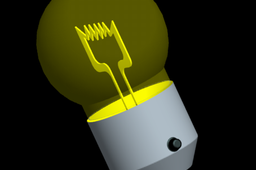 Lamp (Light yellow)