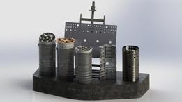 Combustion Liner Display and Repair