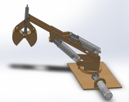 Toy Hydraulic Arm