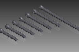 DIN 94 Split Pins (Cotter Pins). Nom. Diameter 13mm