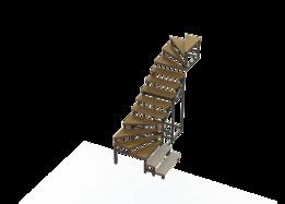 Residential Stair Frame