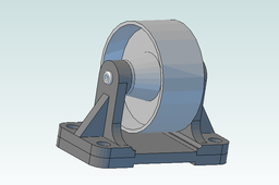 Bell-Roller Support