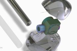 Water Flow sensor Airfoil