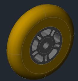 Wheel Yellow