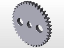 Metric Spur Gears (m=2.5)