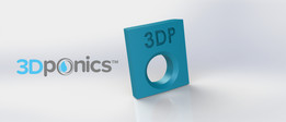 Inner Clip - 3Dponics Drip Hydroponics System