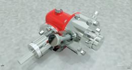 Moto redutor a ar comprimido / Pneumatic motor reducer