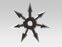 AC Themed Throwing Star