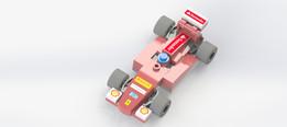 LEGO BRICK FERRARI F1