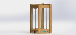 Wooden 3D printer frame