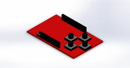 Sparkfun Joystick Kit Model