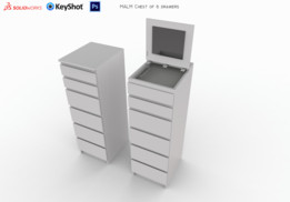 """IKEA"" chest of drawers"