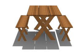 Dining Furniture - Cross Legged