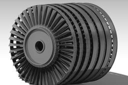 Axial Compressor for a single-shaft jet engine