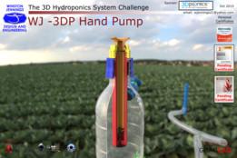WJ - 3DP Hand Pump