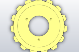 15 tooth sprocket