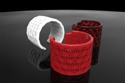 Asanoha Pattern Bracelet