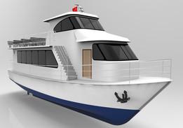 20 m. Passenger Ship