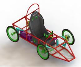 Kart motorisé pour challenge greenpower