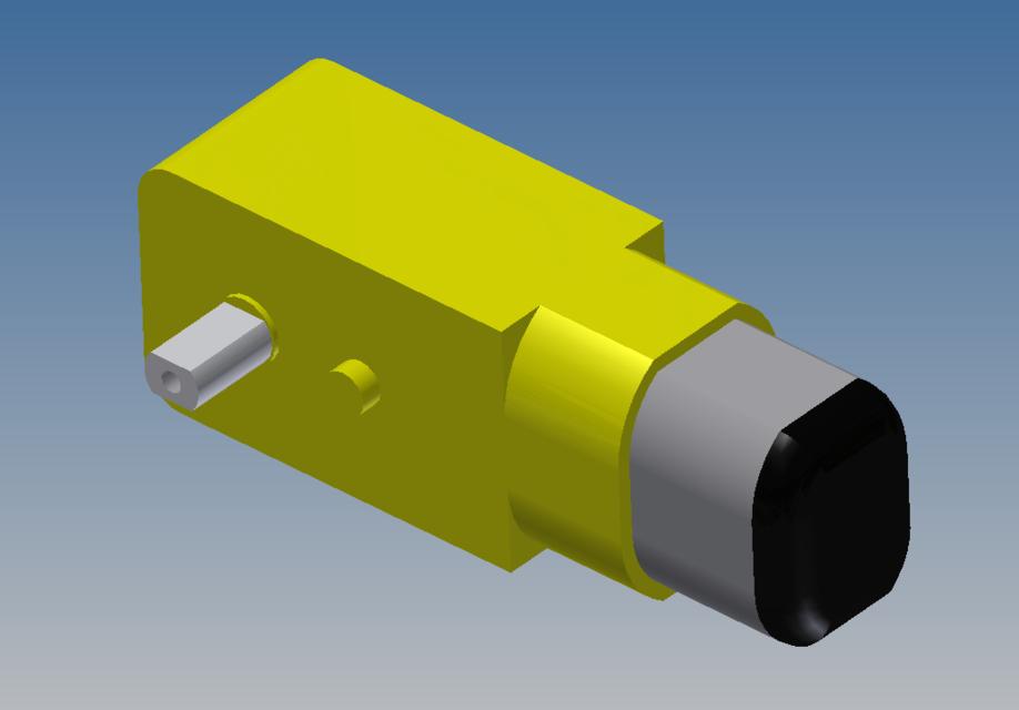 DC motor (Arduino) | 3D CAD Model Library | GrabCAD