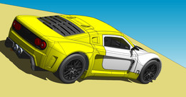Professional track race car for latin american market