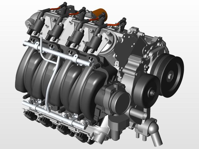 gm ls1 ls2 ls3 engine 3d cad model library grabcad rh grabcad com