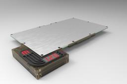 Makerbot replicator heating platform