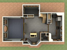 Rad Beach House (Interior layout)