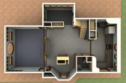 Rad Beach House (Interior layout)