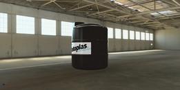 Polyethylene Tanks Type  5000L