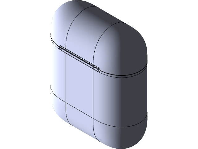 Airpods 3d Cad Model Library Grabcad
