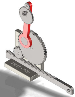 Spur Gear and Rack - Dynamic Demo