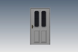 door with sides