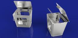 mini metal pail box