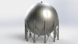 LPG Spherical Tank