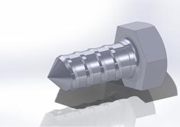 screw H M8x20 - EN 25_607