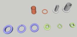 VIC Modular Injector Coil Bobbins (13 Cavity)