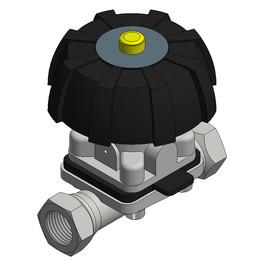 Membran valve DN15 manuel